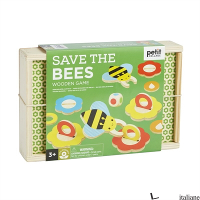 Save the Bees Wooden Game - PETITCOLLAGE