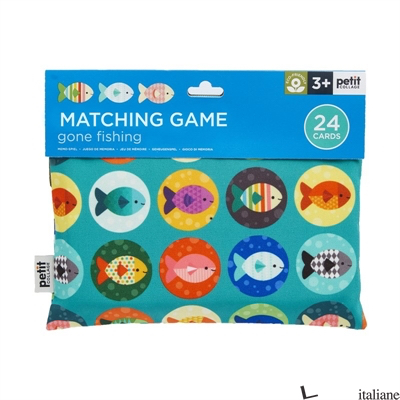 Gone Fishing Matching Game - PETIT COLLAGE