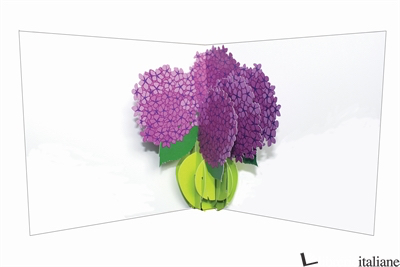 FLOWER VASE HYDRANGEAS - SHERI SAFRAN