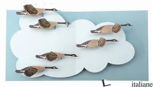 Birds geesa pop up card - SHERI SAFRAN