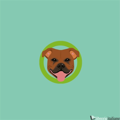 Dogs Staffordshire Pop Up Card - SHERI SAFRAN