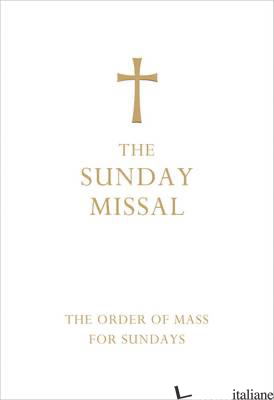 The Sunday Missal (Deluxe White Leather First Communion Gift edition) Currently  -