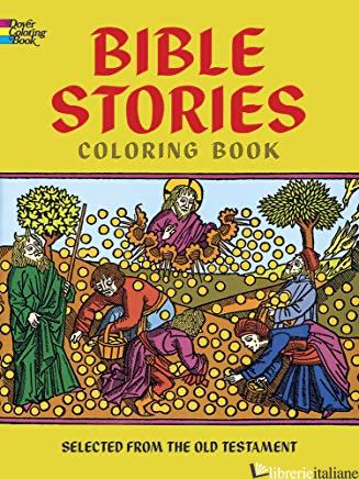 BIBLE STORIES COLORING BOOK - BIBLE