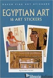 EGYPTIAN ART: 16 ART STICKERS - SAMUEL
