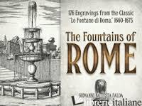 "The Fountains of Rome: Selected Plates from the Classic ""Le Fontane di Roma,"" 16 - GIOVANNI BATTISTA FALDA"