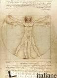 Vitruvian Man Notebook -