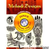 MEHNDI DESIGNS CD-ROM AND BOOK - NOBLE