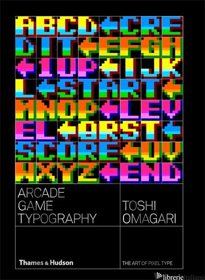 Arcade Game Typography - Omagari Toshi
