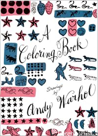 NO DIRITTI ----------COLORING BOOK DRAWINGS BY ANDY WARHOL - ANDY WARHOL