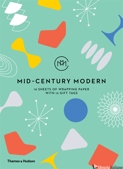 MID-CENTURY MODERN: GIFTWRAPPING PAPER BOOK -