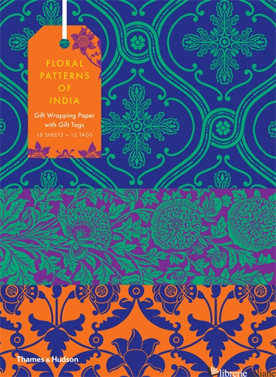 FLORAL PATTERNS OF INDIA: GIFTWRAPPING PAPER BOOK - Wilson, Henry