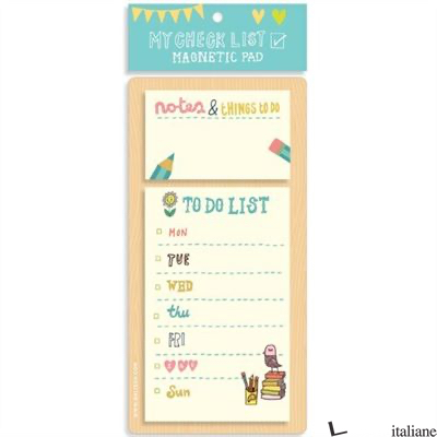 KATE SUTTON MY CHECKLIST MAGNETIC PAD -