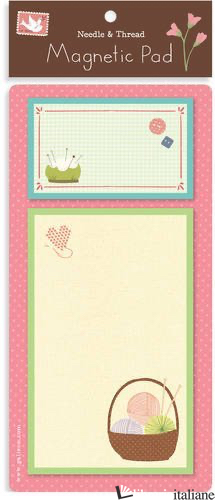 NEEDLE AND THREAD MAGNETIC PAD -