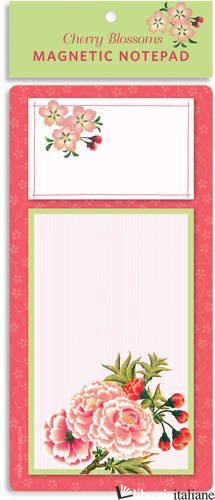 JAPANESE CHERRY BLOSSOMS MAGNETIC PAD - Aa.Vv
