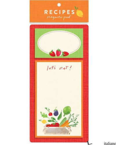 MY RECIPES MAGNETIC PAD -