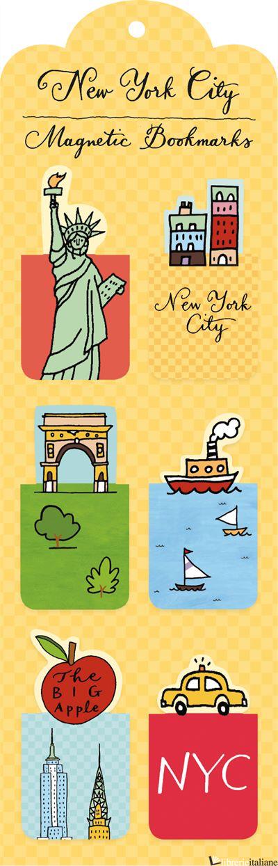 NEW YORK CITY MAGNETIC BOOKMARK - JESSE