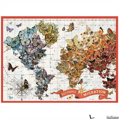Wendy Gold Butterfly Migration 1000 Pc Puzzle - GOLD