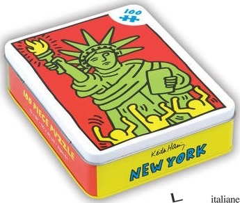 Keith Haring New York 100 Piece Puzzle - ILLUSTRATED BY KEITH HARING
