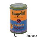 ANDY WARHOL SOUP CAN CRAYONS ORANGE - BY (ARTIST) ANDY WARHOL, DESIGNED BY MUDPUPPY