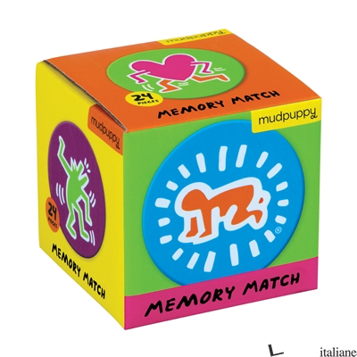 KEITH HARING MINI MEMORY MATCH GAME - MUDPUPPY, BY (ARTIST) KEITH HARING