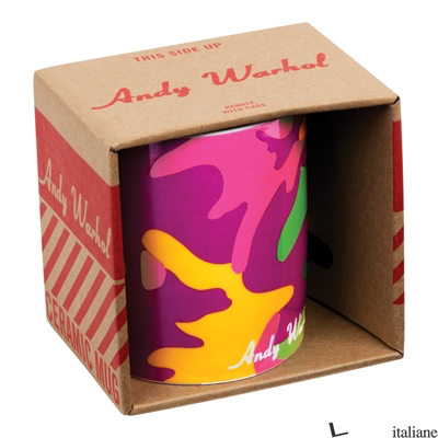Andy Warhol Magenta Camouflage Boxed Mug - GALISON, BY (ARTIST) ANDY WARHOL