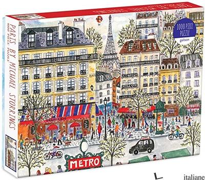 Michael Storrings Paris 1000 Pc Puzzle - Galison, by (artist) Michael Storrings