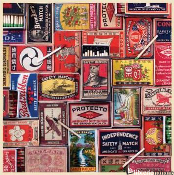 Vintage Matchboxes 500 Piece Puzzle - GALISON, PHOTOGRAPHS BY PHAT DOG VINTAGE