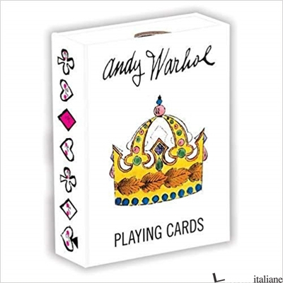 ANDY WARHOL PLAYING CARDS - MUDPUPPY, BY (ARTIST) ANDY WARHOL
