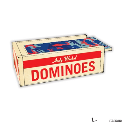 ANDY WARHOL WOODEN DOMINOES - MUDPUPPY, BY (ARTIST) ANDY WARHOL