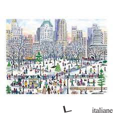 Michael Storrings Winter In Central Park 1000pc Puzzle - Galison, by (artist) Michael Storrings