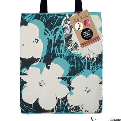 Andy Warhol Poppies Tote Bag - Galison, by (artist) Andy Warhol