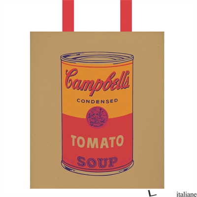 Andy Warhol Campbell's Soup Tote Bag - GALISON, BY (ARTIST) ANDY WARHOL