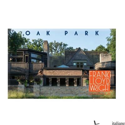 FRANK LLOYD WRIGHT OAK PARK MAGNET - GALISON, ILLUSTRATED BY FRANK LLYOD WRIGHT