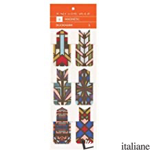 Frank Lloyd Wright Design Magnetic Bookmarks - GALISON, ILLUSTRATED BY FRANK LLYOD WRIGHT