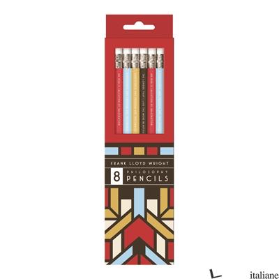 FRANK LLOYD WRIGHT PENCIL SET - Galison, illustrated by Frank Lloyd Wright
