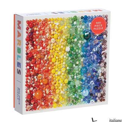 Rainbow Marbles 500 Piece Puzzle - GALISON, BY (PHOTOGRAPHER) JULIE SEABROOK REAM
