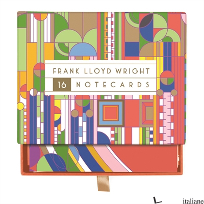 FRANK LLOYD WRIGHT DESIGNS GREETING ASSORTMENT - GALISON, ILLUSTRATED BY FRANK LLOYD WRIGHT