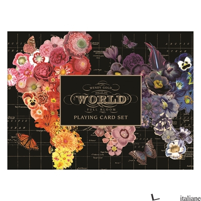WENDY GOLD FULL BLOOM PLAYING CARDS - GALISON, ILLUSTRATED BY WENDY GOLD