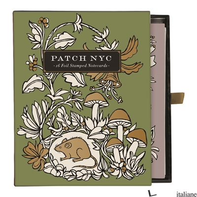 PATCH NYC GREETING CARD ASSORTMENT - GALISON, ILLUSTRATED BY PATCH NYC