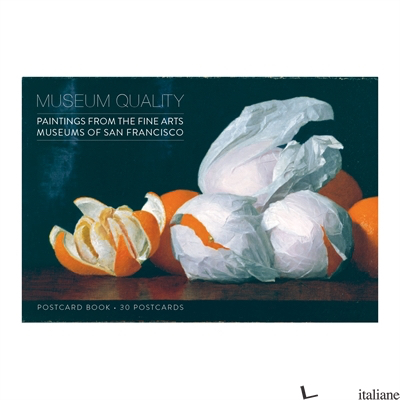 Museum Quality Postcard Book - Galison, by (artist) Fine Arts Museums of San Francisco