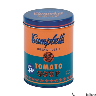 Andy Warhol Soup Can Orange 300 Piece Puzzle - Mudpuppy, by (artist) Andy Warhol