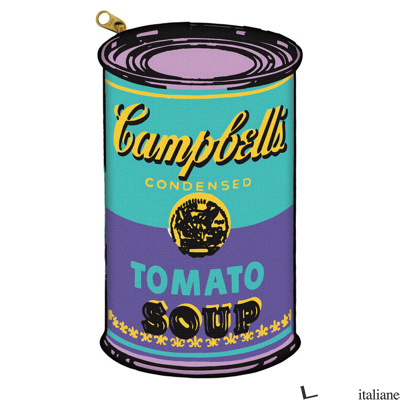 Andy Warhol Soup Can Pencil Pouch With Accessories - Galison, by (artist) Andy Warhol