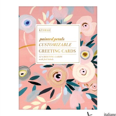 Painted Petals Diy Greeting Card Folio - Galison, by (artist) KT Smail