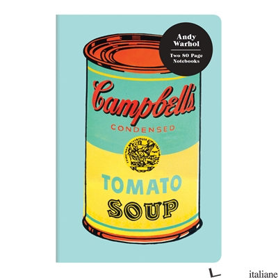 Andy Warhol Mini Notebook Set - Galison, by (artist) Andy Warhol