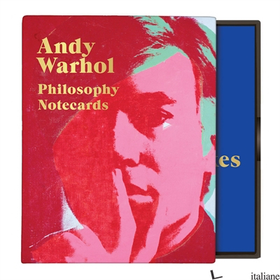 Andy Warhol Philosophy Greeting Assortment Notecards - Galison, by (artist) Andy Warhol