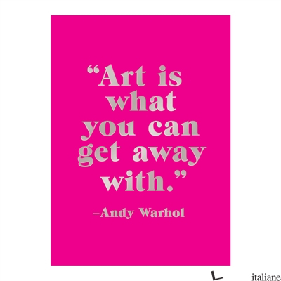 Andy Warhol Hardcover Book of Sticky Notes - Galison, by (artist) Andy Warhol