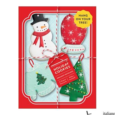 Holiday Cookies Shaped Notecard Portfolio - Aa.Vv