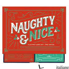 NAUGHTY & NICE PLAYING CARD SET -