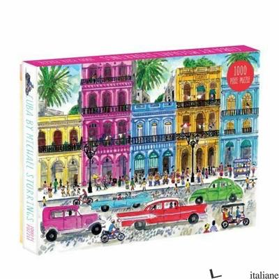 Michael Storrings Cuba 1000pc Puzzle - Galison, by (artist) Michael Storrings
