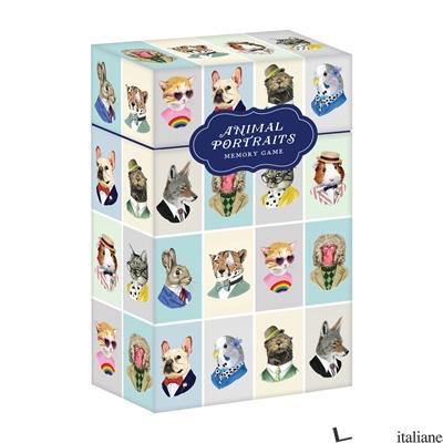 Berkley Bestiary Animal Portraits Memory Game - Galison, illustrated by  Berkley Illustration